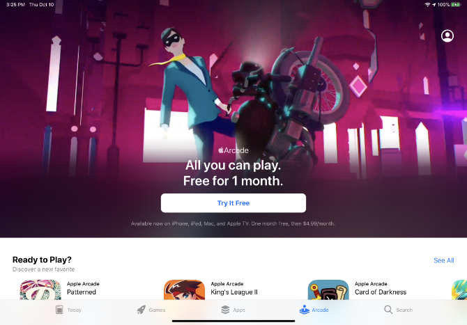 Apple Arcade abonnieren