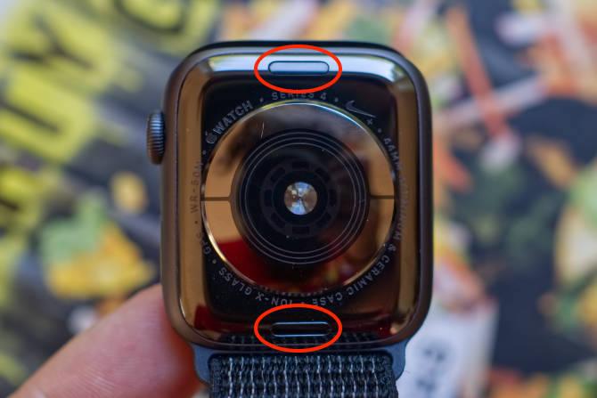 Bringt das Armband Apple Watch an