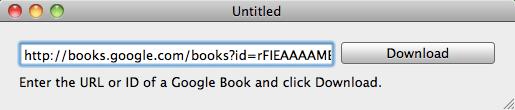 Google Books im PDF-Format herunterladen