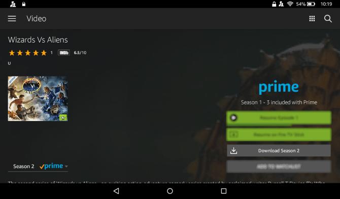 Comment télécharger la vidéo Prime sur une tablette Amazon Fire