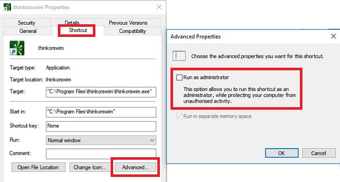 So führen Sie Apps immer als Administrator unter Windows aus: Ausführen als Administrator Windows 10 670x360