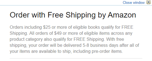 Amazon-Free-Delivery-Erhöhungslimit