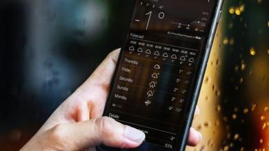 Photo of Les 7 meilleures applications météo pour iPhone