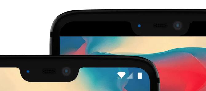 OnePlus 6 Notch-Optionen
