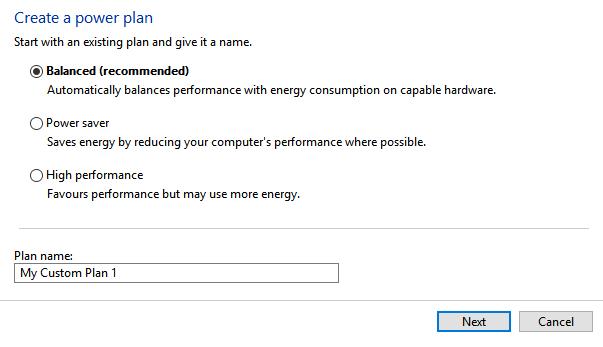 Hochleistungsplan unter Windows fehlt?  Hier ist der Fix Windows10 Power Plan
