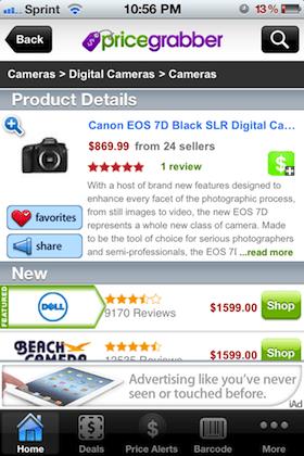 iPhone Einkaufsliste