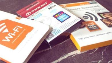 Photo of Cartes SD WiFi: examen comparatif et cadeau
