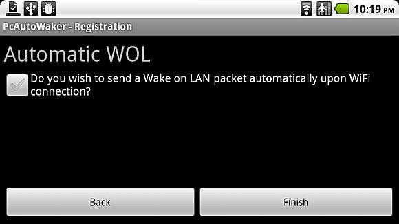 Schalten Sie Ihren PC mit Android-Gerät über WLAN ein [WoW LAN] wake9