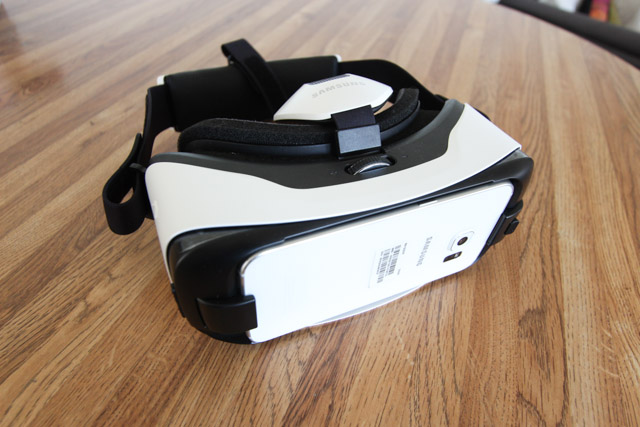 galaxy s6 edge - conception d'engrenage vr