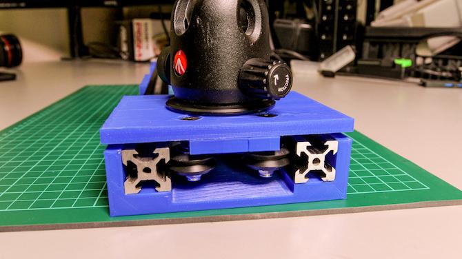 installation de chariot de curseur de caméra bricolage