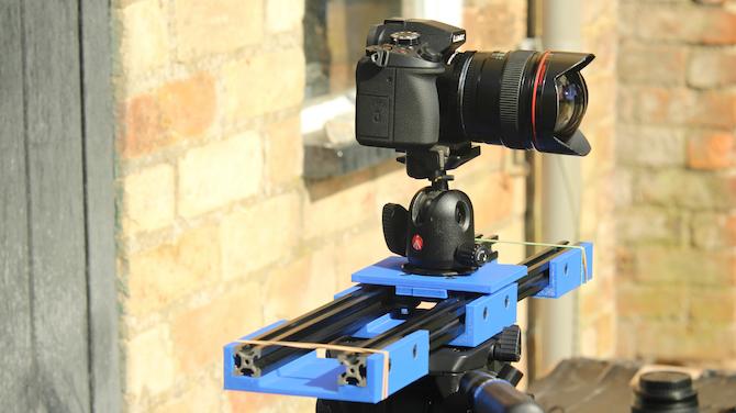 curseur de caméra bricolage fini