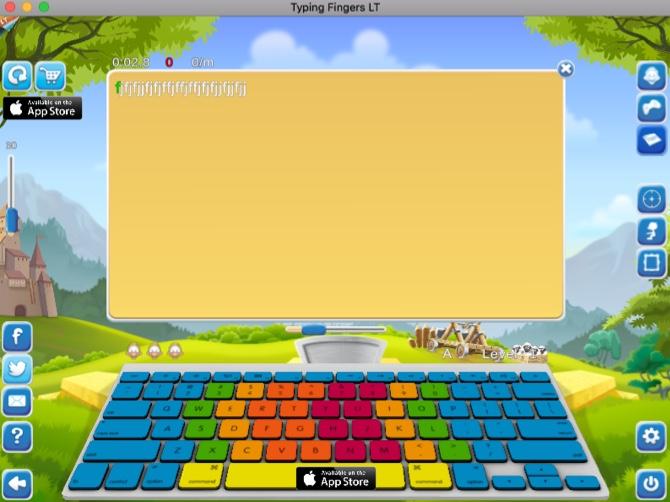 Tippfinger LT Tipp-App für Mac