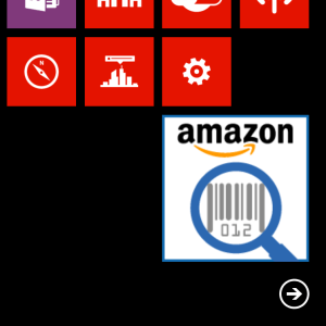 Anwendung Windows Phone Amazon
