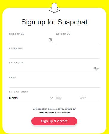 So ändern Sie Ihre Snapchat-Registrierung Snapchat