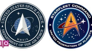 Photo of Voici le logo de Trump's Space Force, et il semble terriblement familier