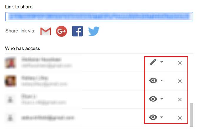 So sehen Sie, wer Zugriff auf Ihre Google Drive-Dateien hat Ändern Sie die Freigabe