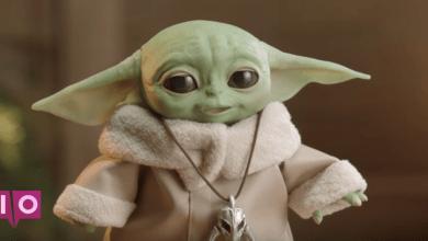 Photo of Le premier regard de Hasbro sur animatronic Baby Yoda vous volera le cœur