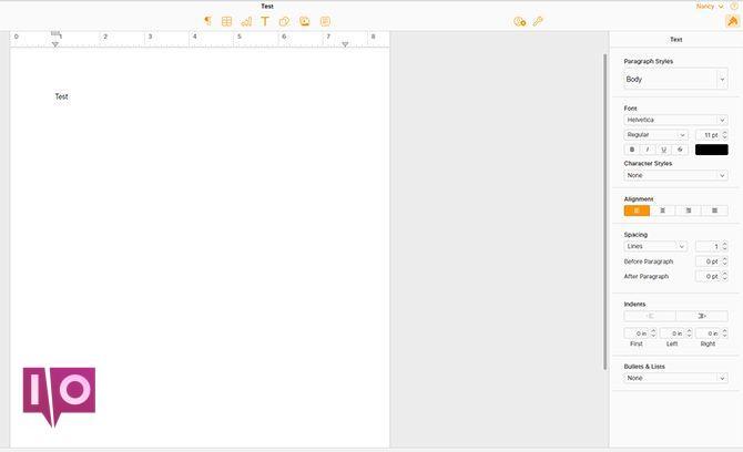 Anzeigen oder Bearbeiten eines Seitendokuments von einem Mac unter Windows iCloud3 670x408
