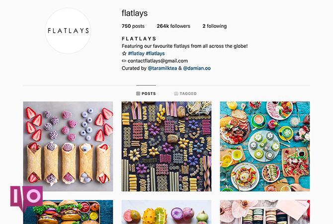 Instagram Flat Lay Themes flatlays