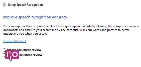la reconnaissance vocale de windows 10 améliore la précision