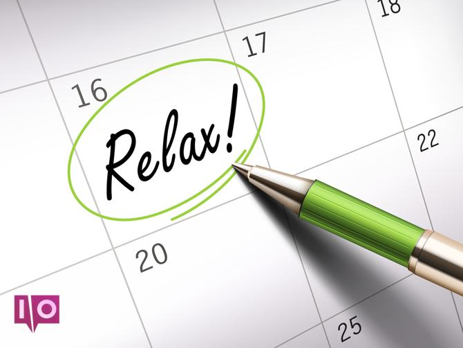 Détendez-vous sur le calendrier