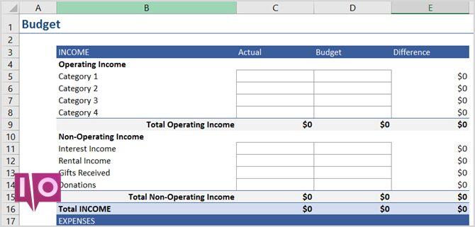 plan d'affaires word excel data