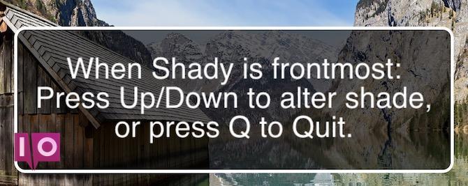 Shady pour Mac