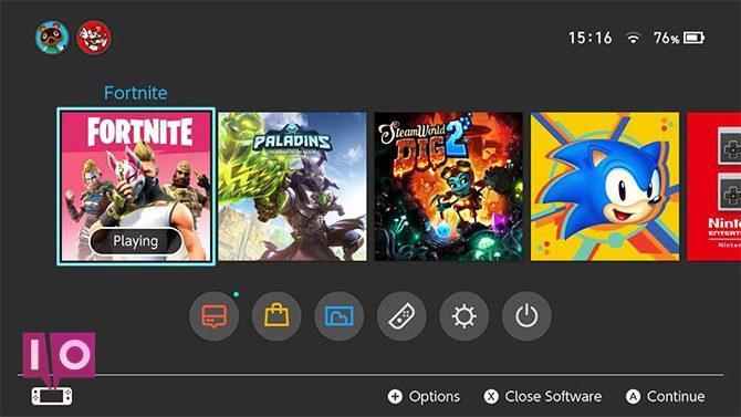 Nintendo Switch Online Fortnite et Paladins
