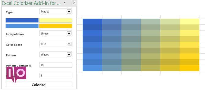 Complément Excel Colorizer Excel