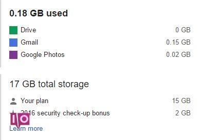 Espace Google Drive