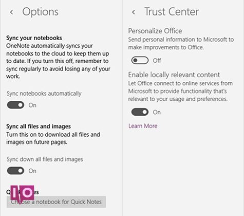 onenote-features-windows-settings