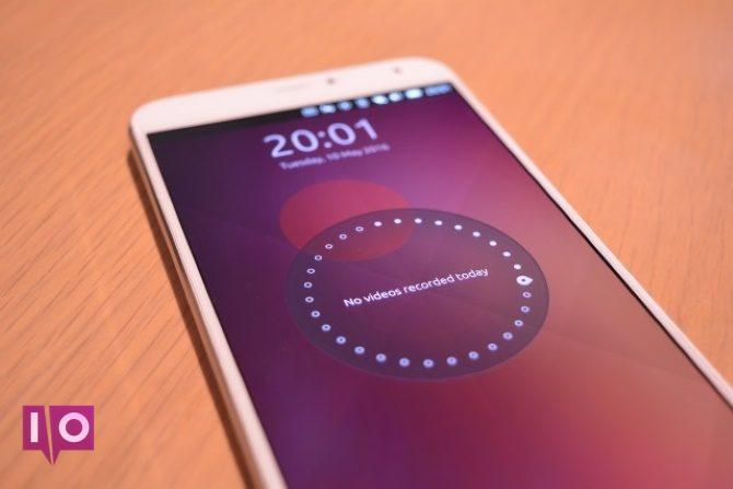 Combiné Ubuntu Touch