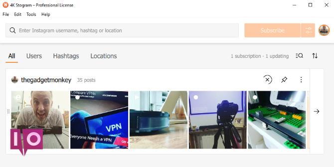 Accédez à Instagram sur votre PC avec 4K Stogram