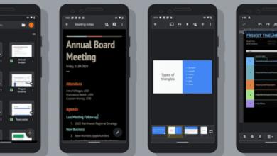 Photo of Google Docs, Sheets et Slides prennent désormais en charge le mode sombre