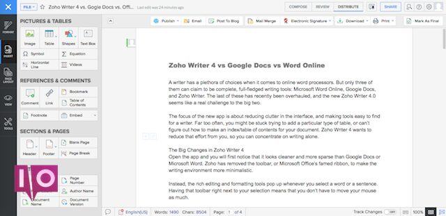 zoho-writer-left-sidebar-pictures-and-tables-fullscreen