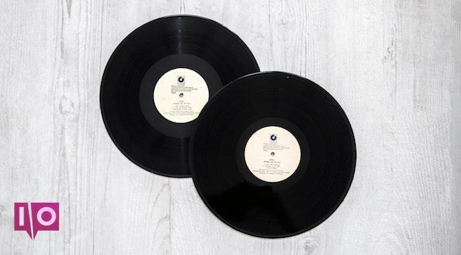 Deux disques vinyle