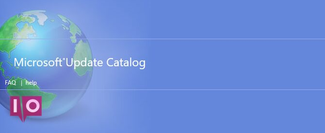 Catalogue Microsoft Update