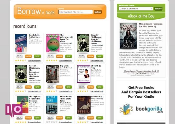 Prêt de livres Meilleurs sites Kindle