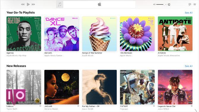 Apple Music présente de nouvelles versions musicales