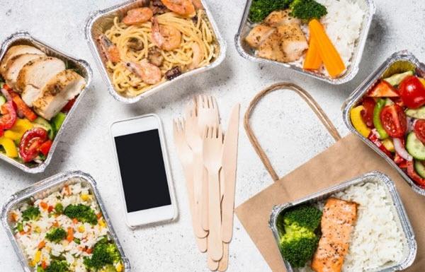communications mobiles dans les restaurants à emporter