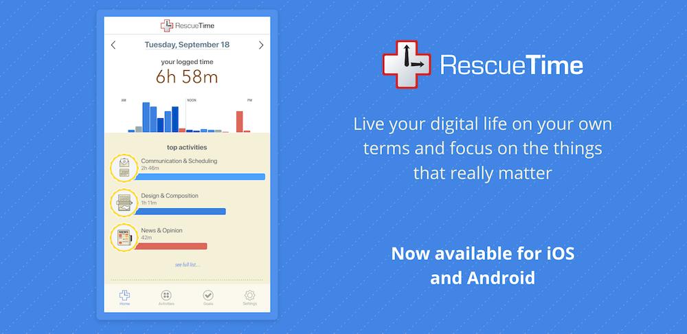 application rescuetime