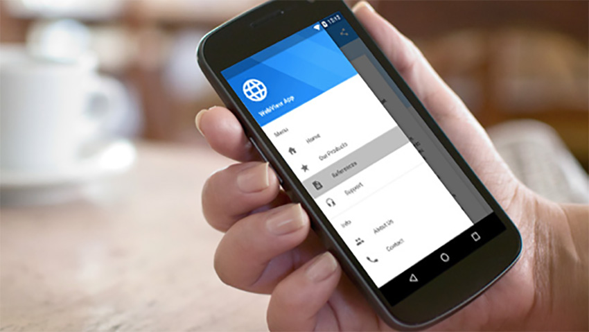 Application WebView universelle pour Android