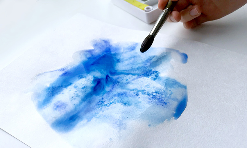 Ajoutez du sel pour créer plus de textures