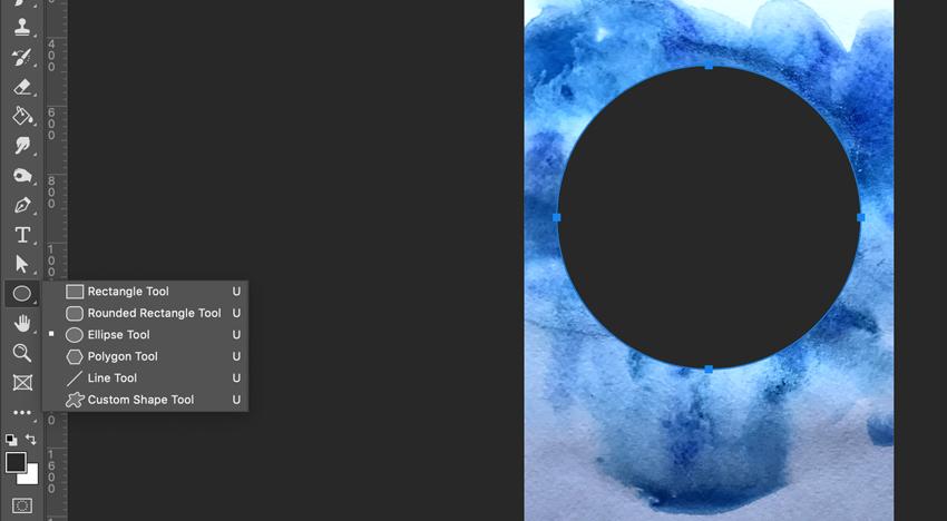 Dessiner un cercle parfait dans Adobe Photoshop