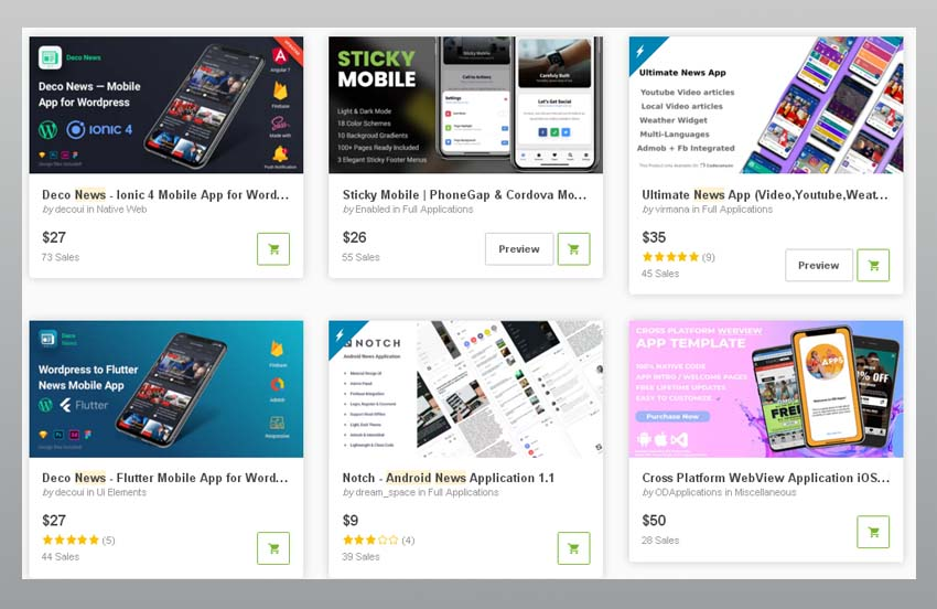 Meilleures ventes d'applications d'actualités iOS