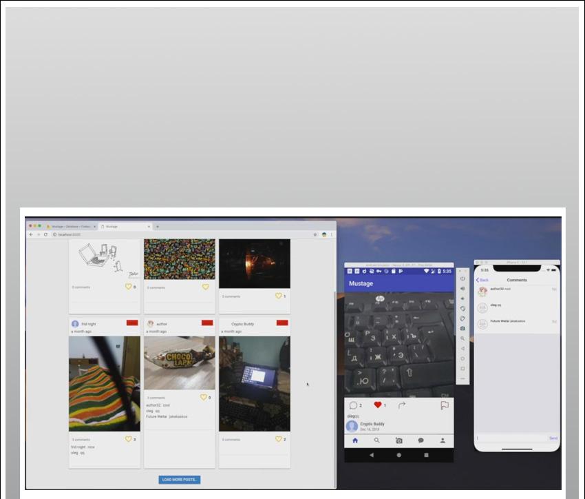 Modèle iOS d'application Instagram