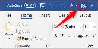 """La commande """"Options"""" ajoutée à la barre d"""