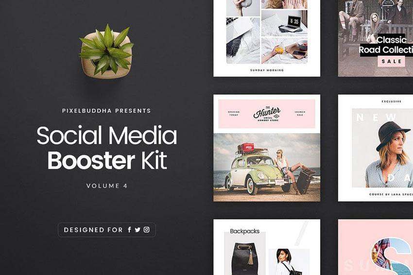 Kit Booster de réseaux sociaux