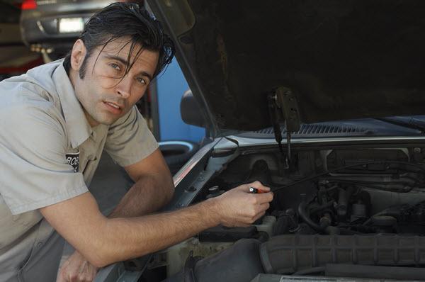 amener un mécanicien