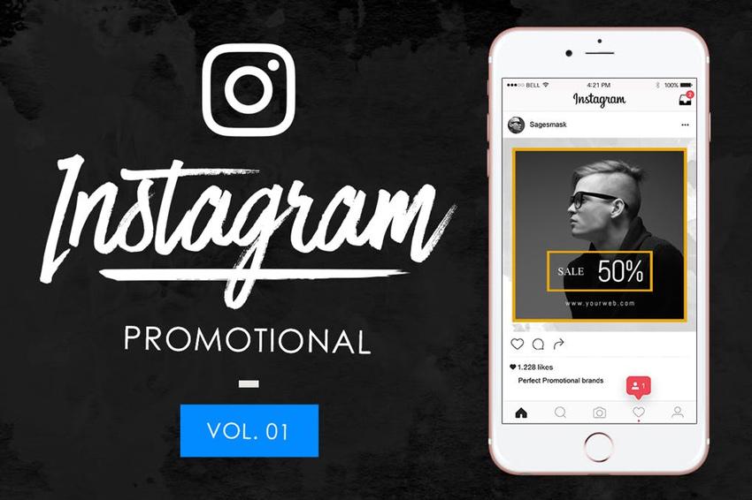 10 Instagram promotionnel Vol 1